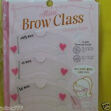 New 3x Korean Mini Eye  Brow Class Drawing Guide for Eye Brows
