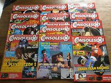 lot de 12 magazines jeux video consoles + année 1999 84 a 95 BE VF