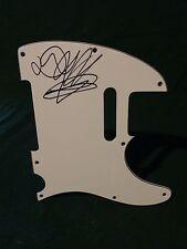 AFI Davey Havok Signed Autographed Pickguard B