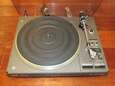 PHILLIPS 777 ELECTRONIC DIRECT DRIVE TURNTABLE W/ DUST COVER MADE IN HOLLAND