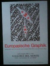 Giuseppe Capogrossi poster cm 50 cx 70