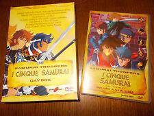 DVD I CINQUE SAMURAI INCUBO A NEW YORK con COFANETTO OAV BOX  YAMATO