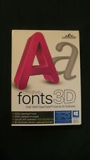 Summitsoft Creative Fonts 3D Over 3000 OpenType Fonts & 3D Software For Windows