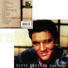 "ELVIS PRESLEY ""LOVE SONGS"" RARE CD DIGIPACK 2001 ITALY"