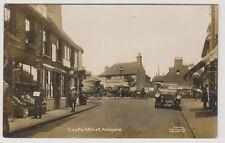 Kent postcard - Castle Street, Ashford - RP - Lovely early scene