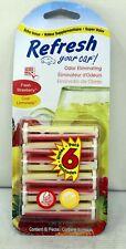 Refresh Your Car Fresh Strawberry & Cool Lemonade Vent Sticks 6 Pieces