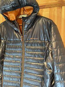 🔰 Quechua Glanznylon Daunenjacke, Gr. XL, Skijacke mit Kapuze