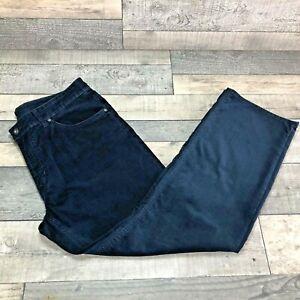 Men's Gant Jason Corduroy Regular Fit Jeans Trousers W36 L30 Navy