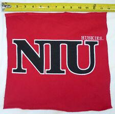 "Niu Northern Illinois University Huskies Felt Fabric Swatch Pennant, 14"" x 14"""