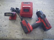 """Snap On 1/2"""" Impact 7850 with Charger, Battery, and LED Flashlight"""