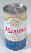 Vintage Hamm's Beer 12oz Can Crimped Steel St Paul MN Bottom Opened