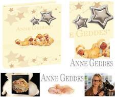 ANNE GEDDES CERTIFICATA ALBUM PORTAFOTO Cm.20x25H ECOPELLE e ARGENTO 925% AG501G