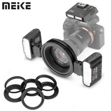 Meike MK-MT24S Macro Twin Lite Flash with Trigger for Sony A7 A7R A7RII A9 A7III