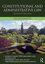 Constitutional & Administrative Law by Hilaire Barnett (Mixed media product, 20…