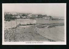 Kent BROADSTAIRS Louisa Gap and Pool c1930/50s? RP PPC A H & S Paragon Series