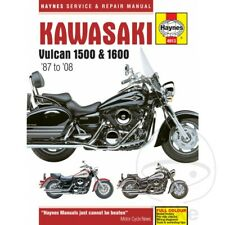 KAWASAKI VULCAN 1500/1600 (87-08) Haynes Repair Manual 4913