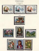 PORTUGAL LOT OF 1968  NEVER HINGED  STAMPS