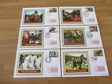 2014 Benham Silk Covers BS1519-1524 WORKING HORSES        (6 covers)