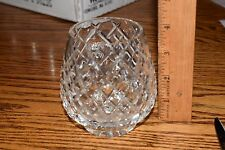 Lenox Crystal Votive Candle Holder Bohemian Clear Pattern Unknown