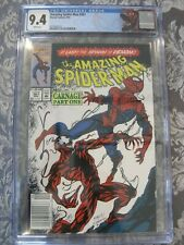 Amazing Spiderman #361 CGC 9.4 rare news stand edition! 1st appearance Carnage!