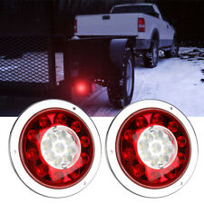 2x Truck Car LED Trailer Tail Light Rear Lamp Stop Reverse Indicator Fog Lamp
