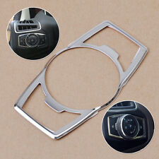 Chrome Fit Ford Escape Kuga 2013 2014 Fog /Head Light Switch Button Cover Trim