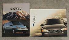 1995 Ford Windstar & 1999 Ford Windstar Sales Brochures