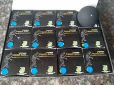 12 Topman squash balls Blue dot