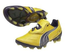 Puma FOOTBALL BOOTS - V1.11 K FIRM GROUND - SOCCER SHOES - YELLOW [102327-03]