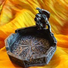 Dekorativer Gargoyle Aschenbecher , Ashtray Gothic, Resin, Deko - NEU OVP