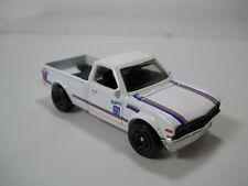 Hot Wheels Datsun Pickup Truck 620 White Paint HTF 1/64 Scale JC23