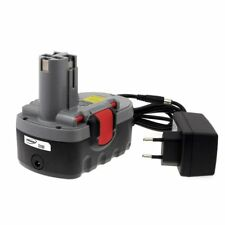 Akku für Bosch Bohrschrauber PSR 18VE-2 O-Pack Li-Ion inkl. Ladegerät 18V 2000mA