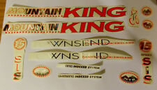 Cycle Bike Transfer Stickers Grafix Graphics Decals Townsend Mountain King Retro