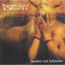NAPALM DEATH - LEADERS NOT FOLLOWERS - CD NEW SEALED 1999