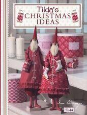 Tilda's Christmas Ideas NOUVEAU Broche Livre  Tone Finnanger