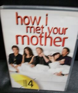 How I Met Your Mother Complete season Four DVD box set 3 disc