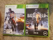 Battlefield 3 & Battlefield 4 Xbox 360 Game Combo Complete Fast Free Shipping