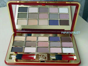 Estee Lauder 15 Deluxe Eye Shadow palette red Pure Color Signature
