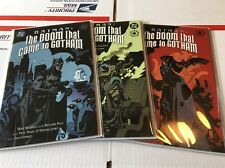 Batman Doom that Came to Gotham NM Set #1 2 3 1st Print Mignola Elseworlds