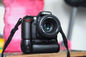 Nikon D90 camera body with a Nikon AF 58mm 1.8 lens