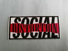 Social Distortion Sew or Iron On Patch
