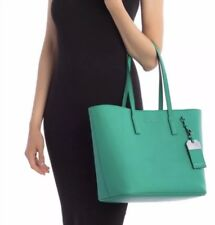NWT Marc Jacobs Luggage Tag Tote Bag Aloe (M0014110-343) Retail $295 Mint