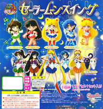 Bandai 20 Years Sailor Moon Sailormoon Key chain Keychain Mascot Figure Set of 6