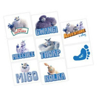 SMALLFOOT Tattoos Party Favours Loot Lolly Bag Birthday