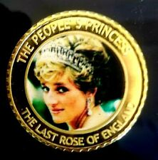 ENGLAND COMMEMORATIVE COINS OF LADY DIANA-PRINCES OF WALES (1961-1997)  COIN # 1