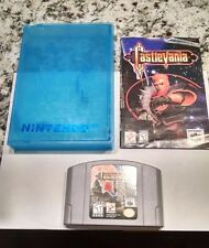 Castlevania  (Nintendo 64, 1999) Cartridge, Instruction / Manual Booklet & Case!