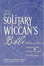 Solitary Wiccan's Bible Book ~ Wiccan Pagan Library