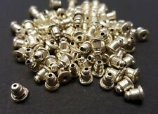 100 Bullet Earring Post Backs,Nuts,Findings,Jewellery Making FREE 1ST CLASS P&P