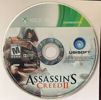 Assassin's Creed II Platinum Hits Edition (Microsoft Xbox 360, 2009) - DISC ONLY