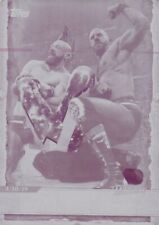 The bar - 2020 Topps Wwe Road to Wrestlemania, Magenta Printing Plate 1/1
